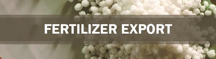 Fertilizer Export